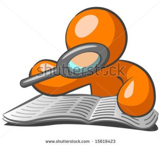 stock-vector-orange-man-browsing-the-want-ads-looking-for-a-job-in-this-very-challenged-economy-he-s-using-a-15619423