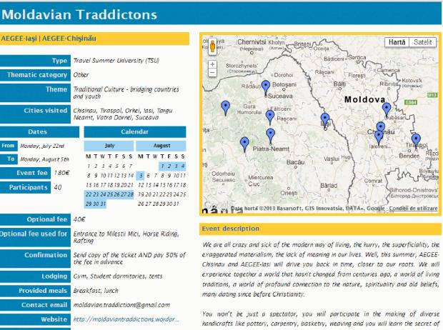 moldavian traddictions