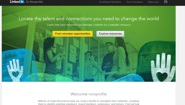 Linkedin nonprofit
