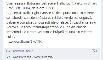 Facebook ads mesaj