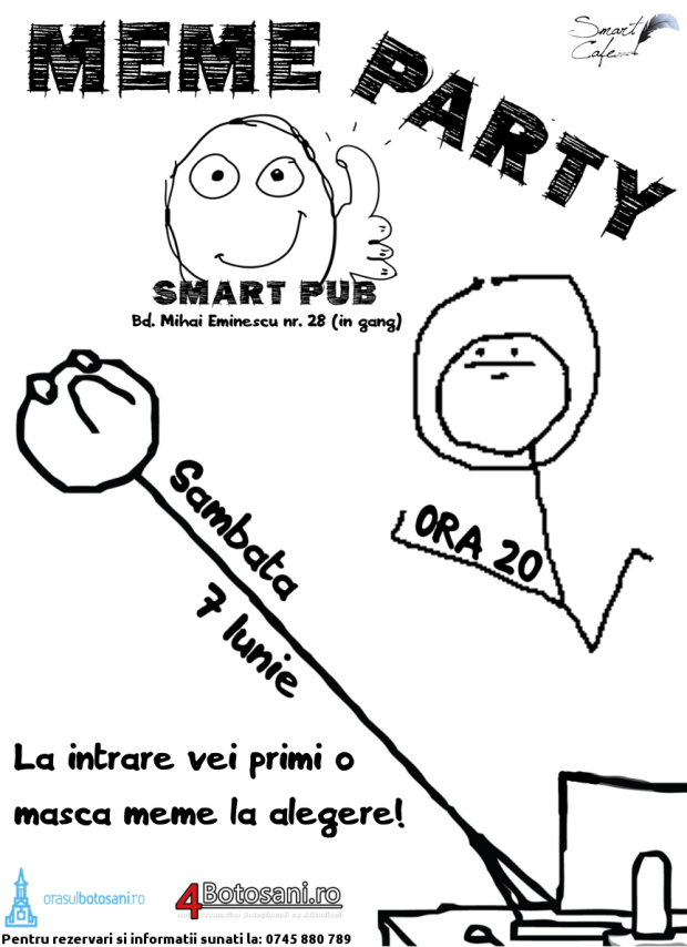meme party afis ver4