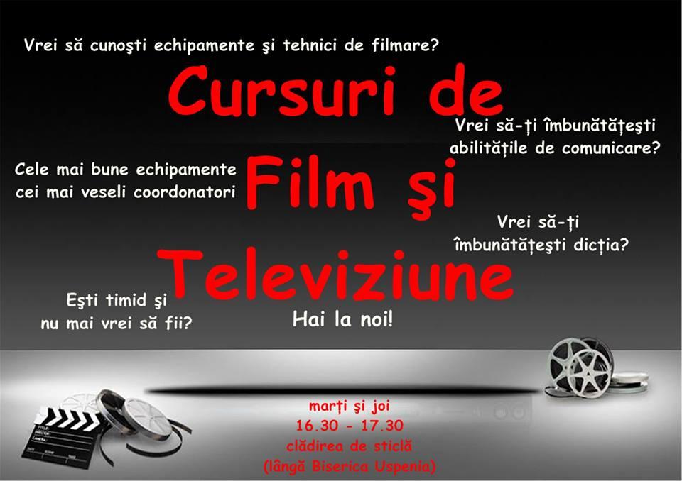 cursuri filme si televiziune